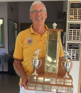 2015 Findlay Trophy Group B Winner David Gardener