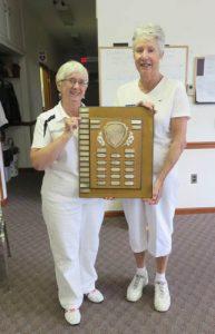 2016 Roni-Frey winners  Gail Richards and Frances White
