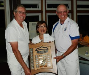 2016 Sadler Memorial Winners Mel Forster, Mary Forster and Don Allen, Victoria LBC