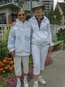 2016 Rose Bowl Winners Josi Tan and Jill Foster