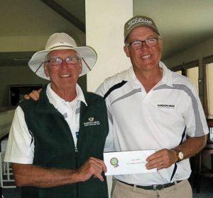 David Gardner and Dennis Verge 3rd place winners 2016 Jubilee Pacific Pairs