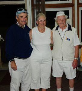 Second 3 game winner – Ralph Storey, Albert Baxter, Mary Sullivan - Lakehil